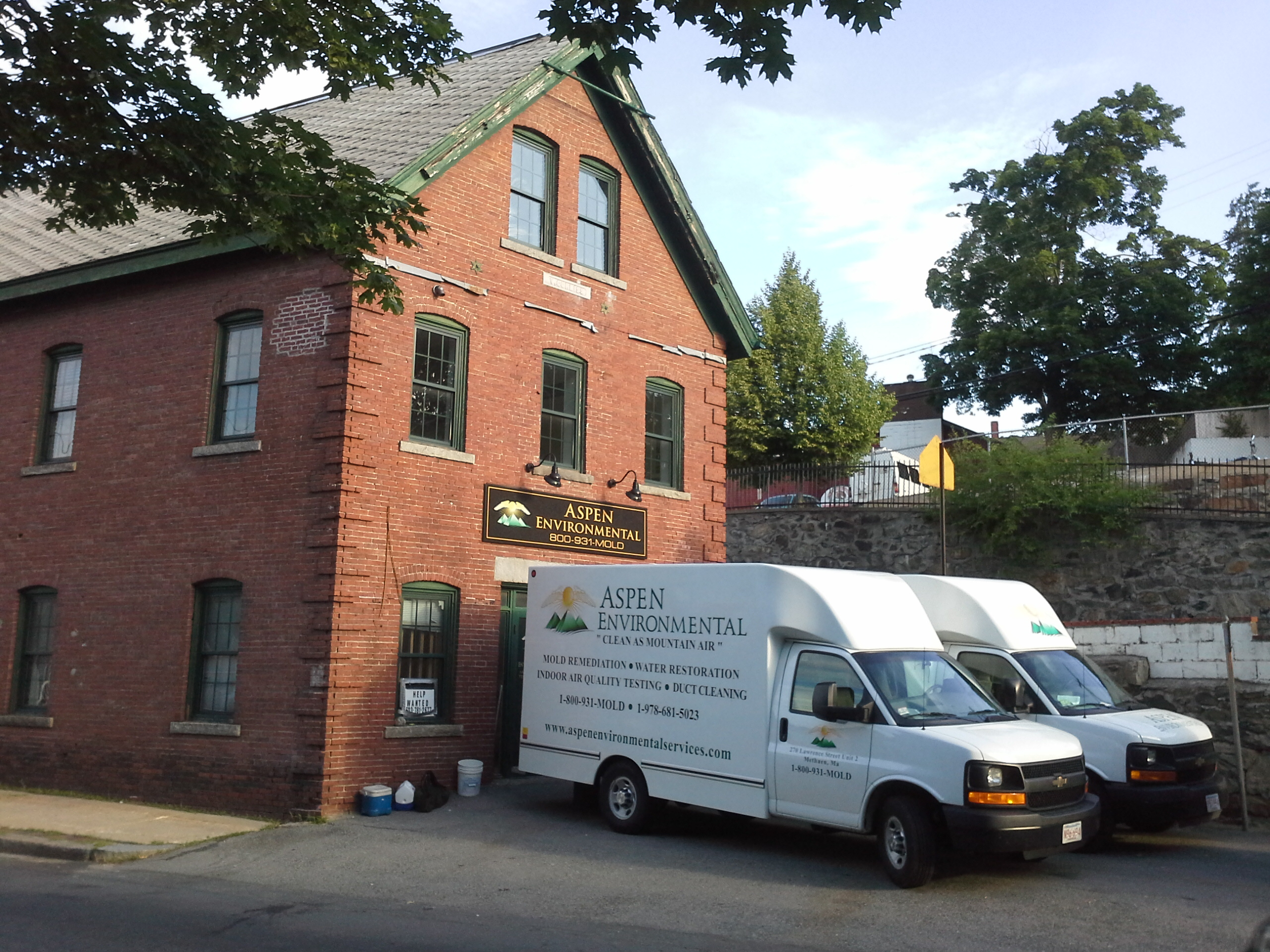 Water Damage Repair in Billerica MA