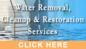 Water Removal, Cleanup and Restoration Services